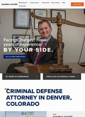 Richard B.Huttner, P.C.: Denver Defense Attorney
