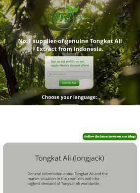 The Tongkat Ali Shop Co., LTD