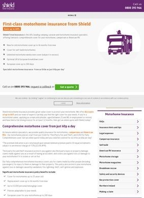 Shield Total Insurance: Motorhome Insurance