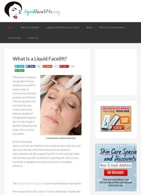 Liquid Facelifts - Pictures, Cost, and What is this Procedure?