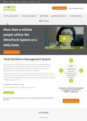 Advance Systems Inc.: Workforce Management Software