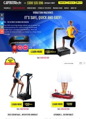 CardioTech: Vibration Machines