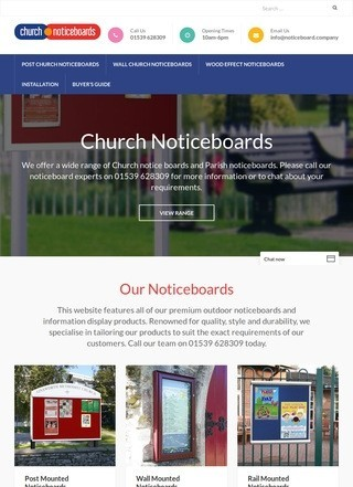 Church Noticeboards