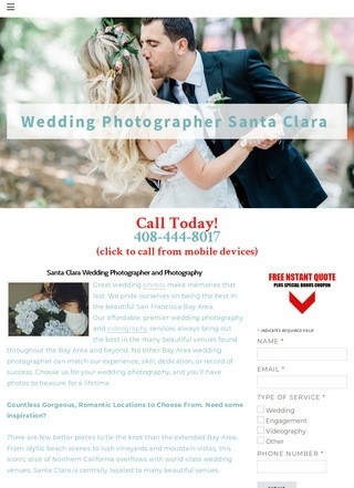 Wedding Photography Santa Clara, Ca