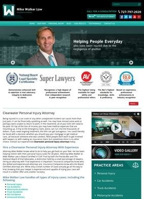 Mike Walker Law: Clearwater Personal Injury Attorneys