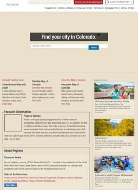 Interactive Map of Colorado