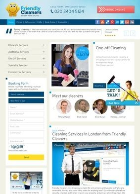 Friendly Cleaners Cleaning Services