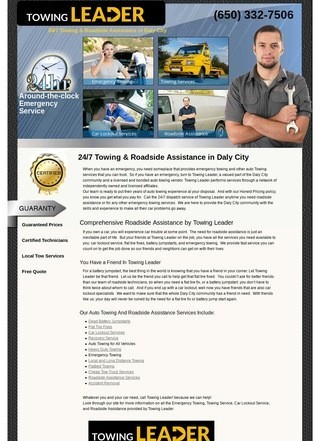 Towing Leader Daly City
