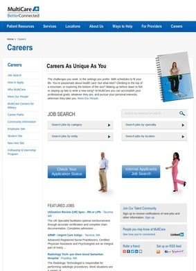 MultiCare Health System Jobs