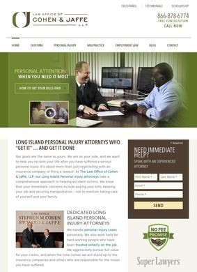 Law Office of Cohen & Jaffe, LLP: Long Island Personal Injury Lawyers
