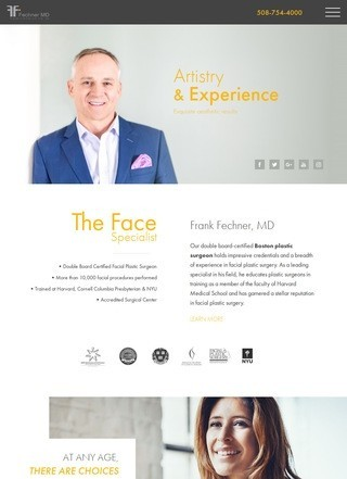 Plastic Surgeon Boston, Dr. Frank Fechner