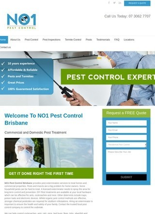 NO1 Pest Control Brisbane
