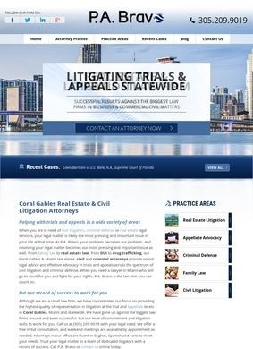 Coral Gables Real Estate & Civil Litigation Attorneys