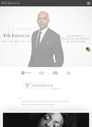 Plastic Surgeon in Chicago, Dr. Few