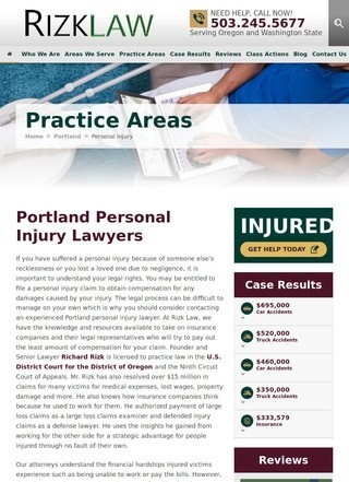 Rizk Law - Portland Personal Injury Lawyers