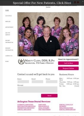 Dr. Marty Cloin Family & Cosmetic Dentist