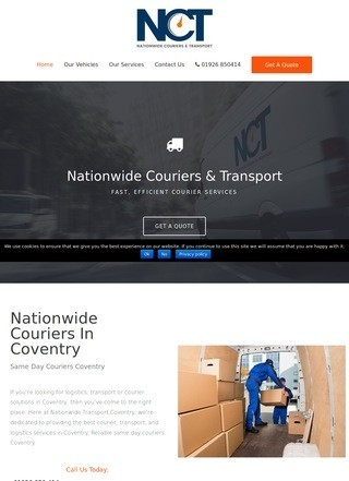 Nationwide Couriers Transport
