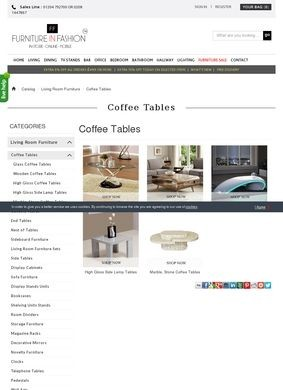 Furniture In Fashion: Coffee Tables