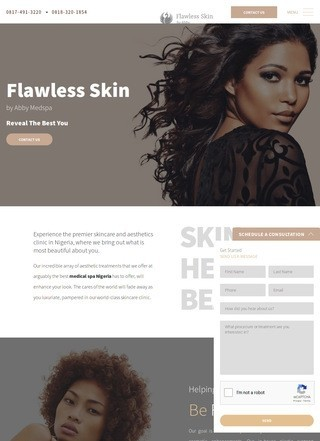 Best Medspa Nigeria: Flawless Skin by Abby