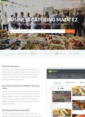ezCater Corporate Catering
