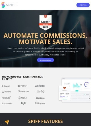 Spiff Sales Commission Software