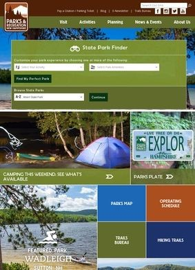 The New Hampshire Division of Parks and Recreation