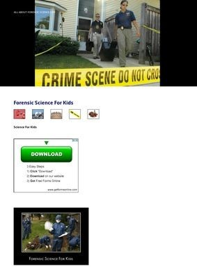 All-About-Forensic-Science.com: Kids