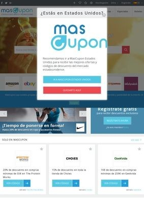 MasCupon: Discounts for the Spanish Ecommerce Market