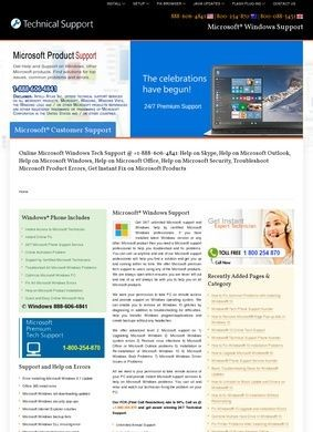 Intelli Atlas Inc: Microsoft® Windows Support