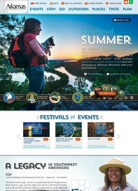 Arkansas Tourism Official Site