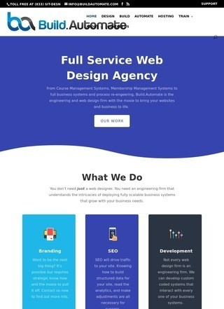 Build.Automate Web Design Agency