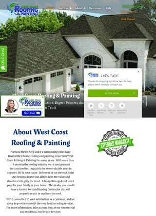West Coast Roofing Portland
