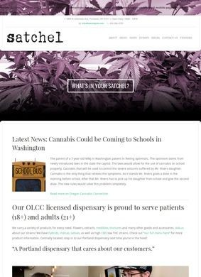 Satchel: Local Portland Dispensary