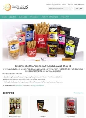 BARK STIX: Healthy Organic Dog Treats