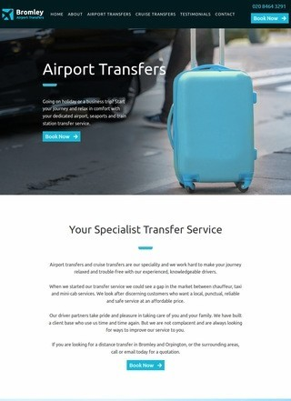 Bromley Airport Transfers