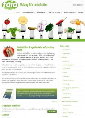 FAIA - Food Additives and Ingredients Association