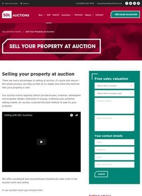 SDL Auctions: Sell Your Property at Auction