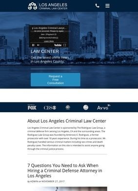 Los Angeles Criminal Law Center