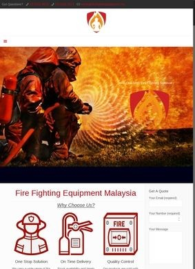 Fire Fighting Equipment Malaysia