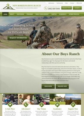 New Horizons Boys Ranch - Help for Troubled Boys