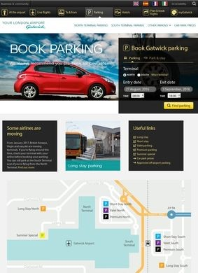 GatwickAirport.com: Parking