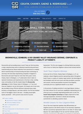 Brownsville Insurance Defense, Corporate & Product Liability Attorneys