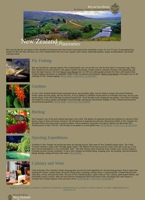 New Zealand Itineraries