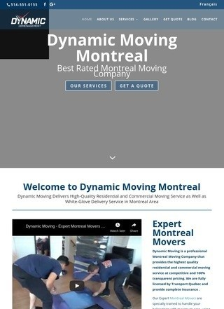Dynamic Moving Montreal