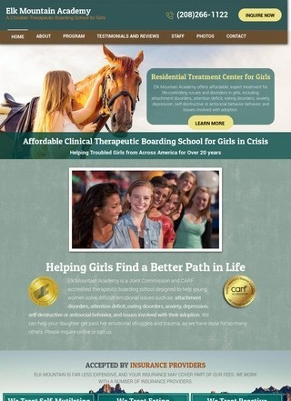 Elk Mountain Academy forTroubled Girls