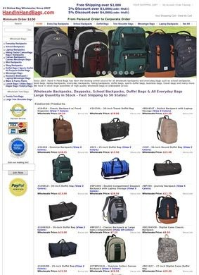Wholesale Handbags & Backpacks