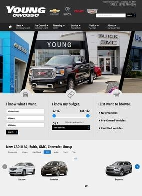Young Chevrolet Cadillac Buick GMC