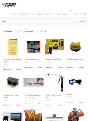 Forklift Lights & Safety Accessories