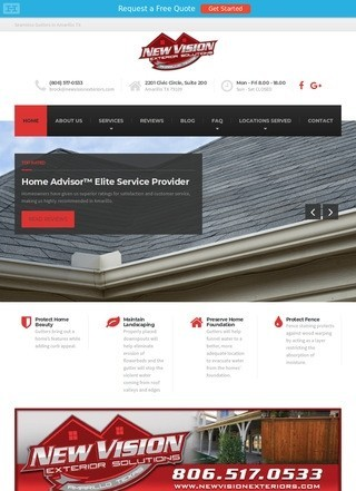 New Vision Exteriors Gutters