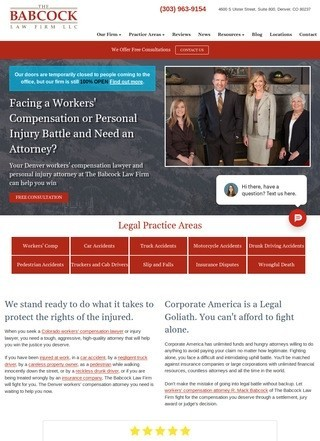 Denver Workers Compensation Law Firm